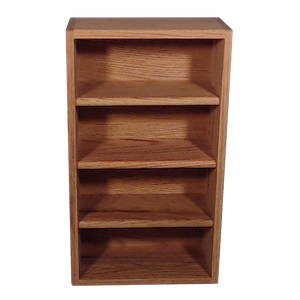 "Model 403-1 Collectible Display Rack - (4) 6"" Shelves - 5"" Openings - 14"" Wide"
