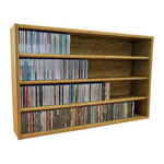 Model 403-3 CD Storage Cabinet - honey oak