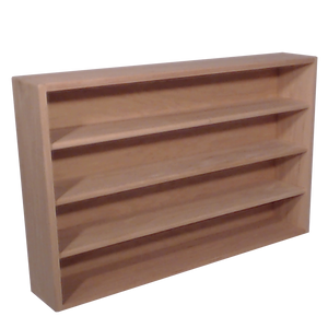 "Model 403-3 Collectible Display Shelf - (4) 6"" Shelves - 5"" Openings - 39"" Wide"