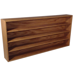 Model 403-4 CD Storage cabinet - honey oak