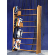 Load image into Gallery viewer, Media storage Model 405 VHS & DVD Storage Rack from Hill Wood Shed, holds 160 DVD/blu-ray or 84 VHS