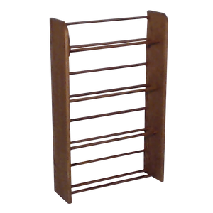 Media storage Model 405 VHS & DVD Storage Rack  - dark