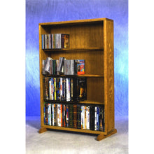 Load image into Gallery viewer, Model 415-24 CD/DVD/VHS Combination Rack