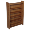 CD storage unit, Model 502 CD Storage Rack from Hill Wood Shed, available in 4 finishes