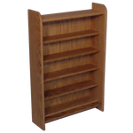 330 capacity CD storage cabinet - honey oak