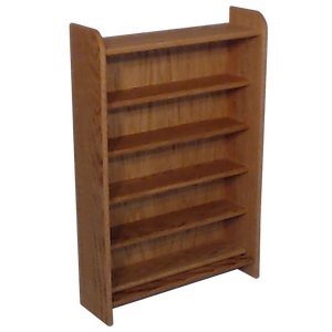 "Model 502 Collectible Display Shelf - (5) 7"" Shelves - 6"" Openings - 24 1/4"" Wide"