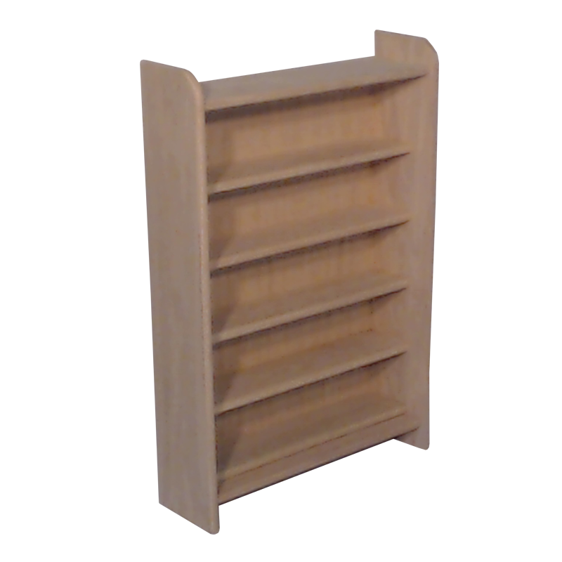 330 capacity CD storage cabinet - unfinished red oak