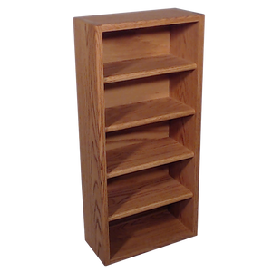 "Model 503-1 Collectible Display Shelf - (5) 6"" Shelves - 6"" Openings - 14"" Wide"
