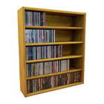 Model 503-2 CD Storage Cabinet - honey oak