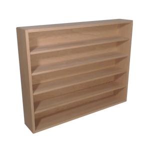 "Model 503-3 Collectible Display Shelf - (5) 5"" Shelves - 6"" Openings - 39"" Wide"