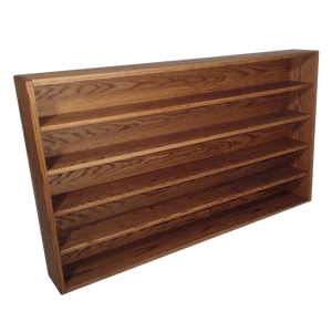 "Model 503-4 Collectible Display Shelf - (5) 5"" Shelves - 6"" Openings - 52"" Wide"