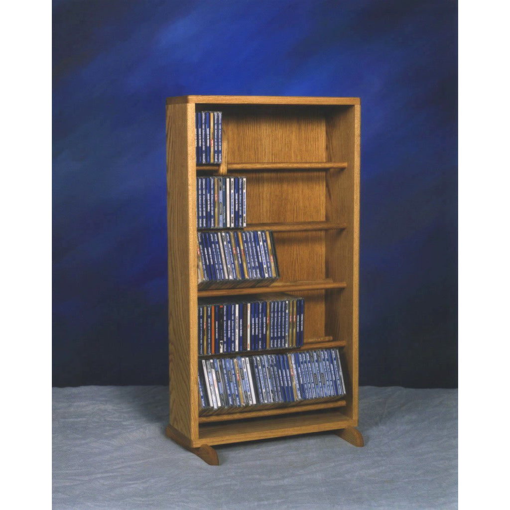 06 Series CD Storage Cabinet with dowel shelves - 12 sizes