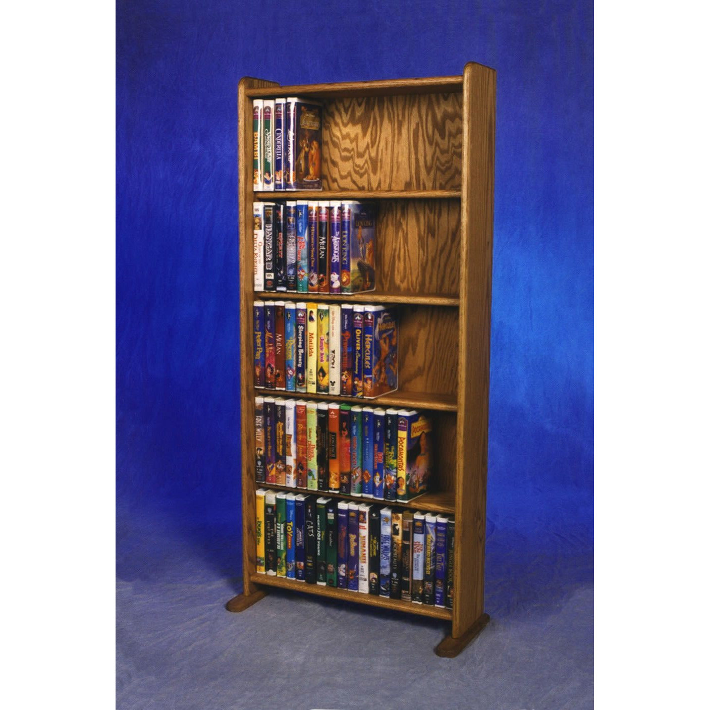 Model 507 VHS & DVD Storage Rack