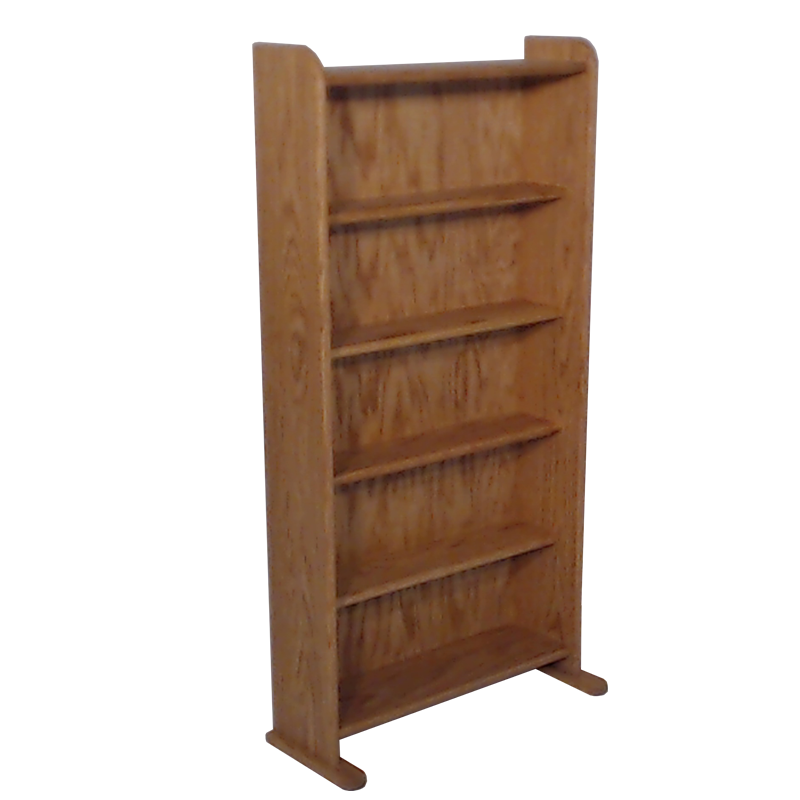 honey oak finish model 507 CD storage cabinet
