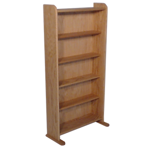 "Model 507 Collectible Display Shelf - (5) 5"" Shelves - 8"" Openings - 24"" Wide"