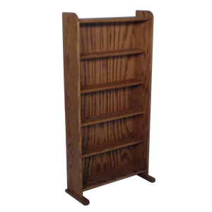 dark finish model 507 CD storage cabinet