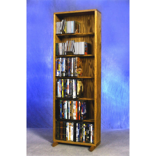 Model 615-18 CD/DVD/VHS Combination Rack