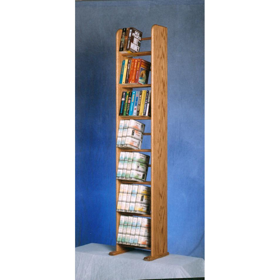Model 705-12 VHS & DVD Storage Rack