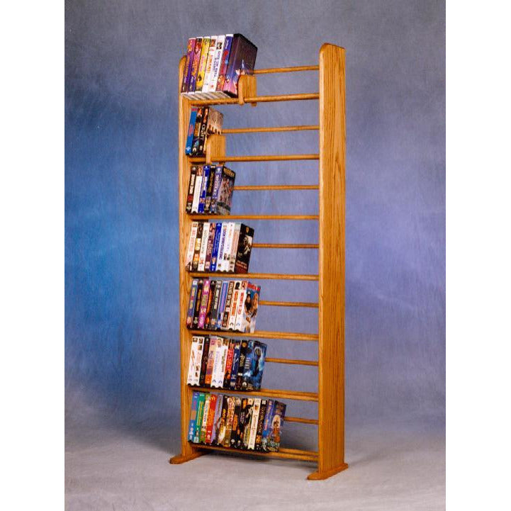 honey oak finish Model 705 DVD rack