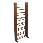 dark finish Model 705 DVD rack