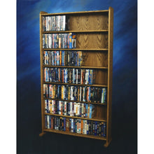 Load image into Gallery viewer, Model 707-3 VHS & DVD Storage Rack