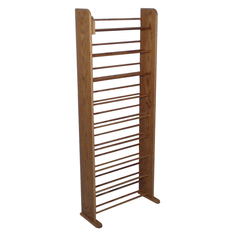 honey oak finish model 901 CD storage
