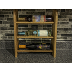 Wine Rack - 3 Bottle Horizontal - Round top