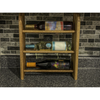 Wine Rack - 3 Bottle Horizontal - Square top