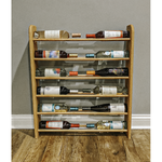 Wine Rack - 20 Bottle Horizontal - Square top