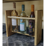Wine Rack - 3 Bottle Vertical - Square top