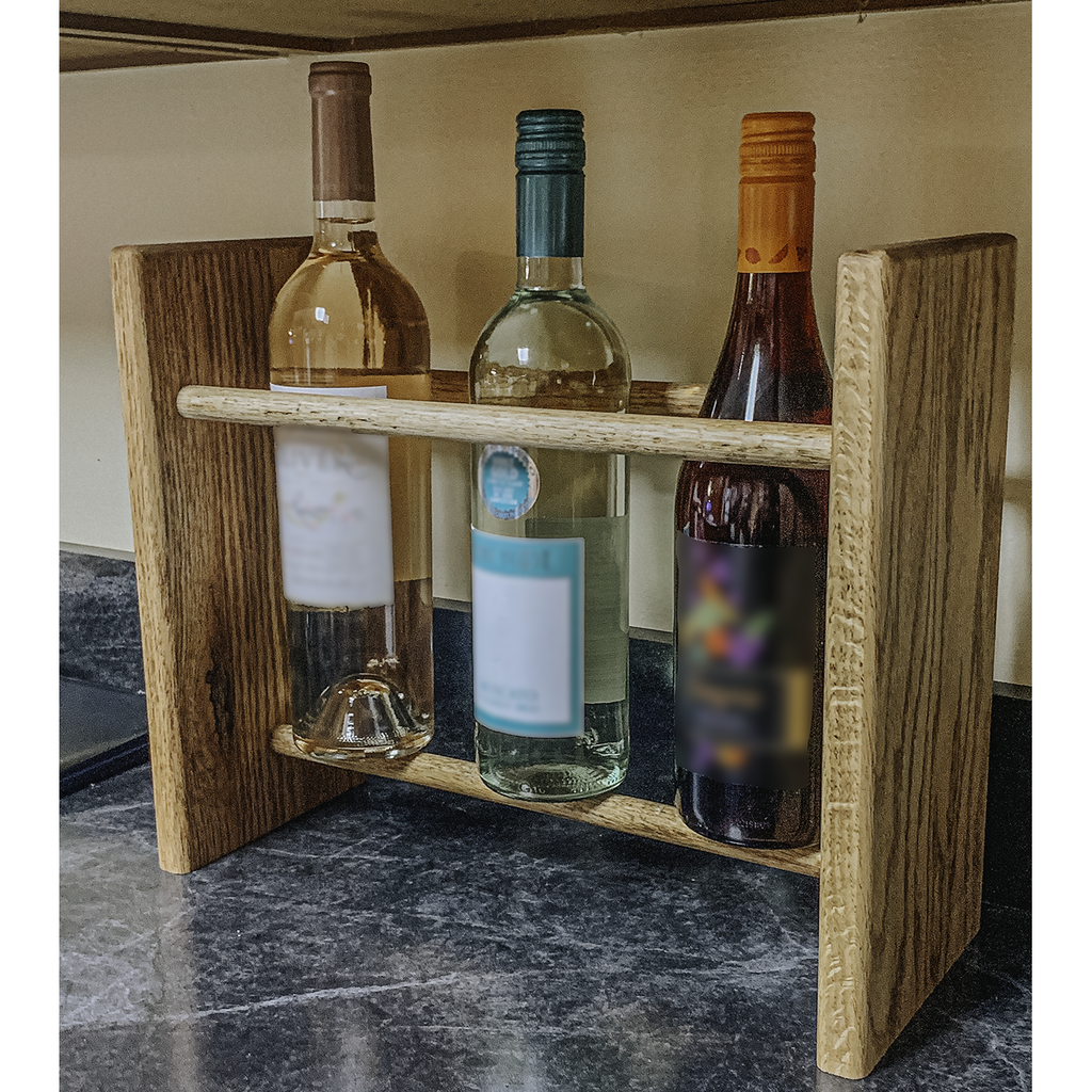 Wine Rack - 6 Bottle Vertical - Rounded top