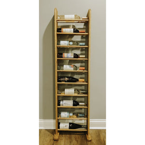 Wine Rack - Tall 10 Bottle Horizontal - Square top