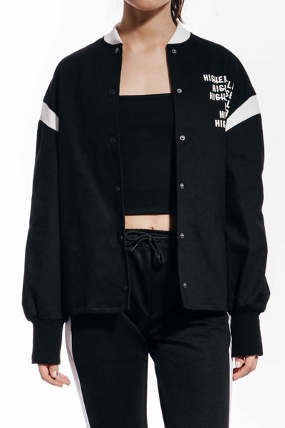 OPEN CUT BOMBER JACKET