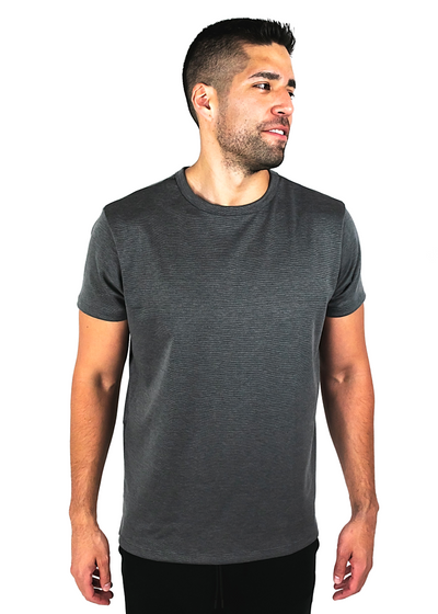 "<h1 style=""text-align: center;""><strong>Asphalt</strong></h1> <p style=""text-align: center;""><span style=""color: #999999;"">heavyweight dark grey tee</span></p>"