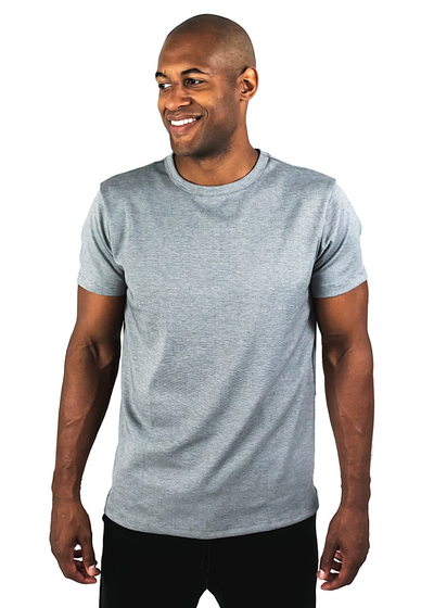 "<h1 style=""text-align: center;""><strong>Stone</strong></h1> <p style=""text-align: center;""><span style=""color: #999999;"">heavyweight grey tee</span></p>"