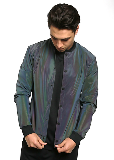 "<h1 style=""text-align: center;""><strong>GHOST</strong>&nbsp;</h1> <p style=""text-align: center;""><span style=""color: #999999;"">translucent bomber jacket</span></p>"