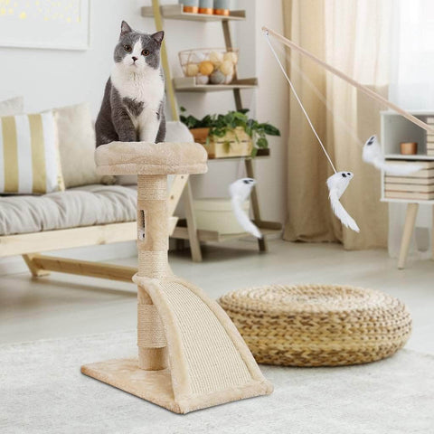 Cat Tree Furniture Cat Tower - pethomeus
