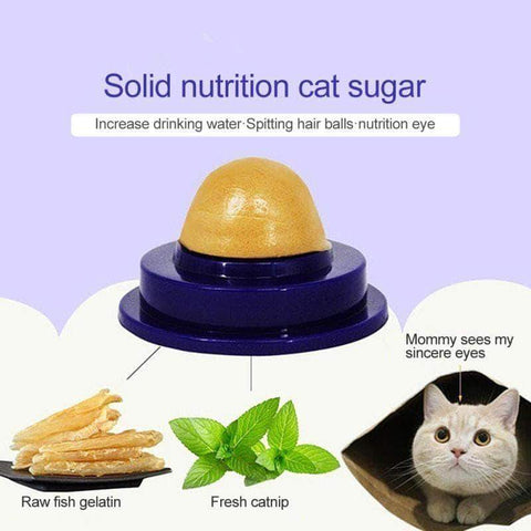 Healthy Catnip Sugar Candy Licking Nutrition Gel - pethomeus