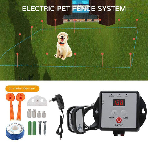 Electric Dog Fence Waterproof Rechargeable - pethomeus