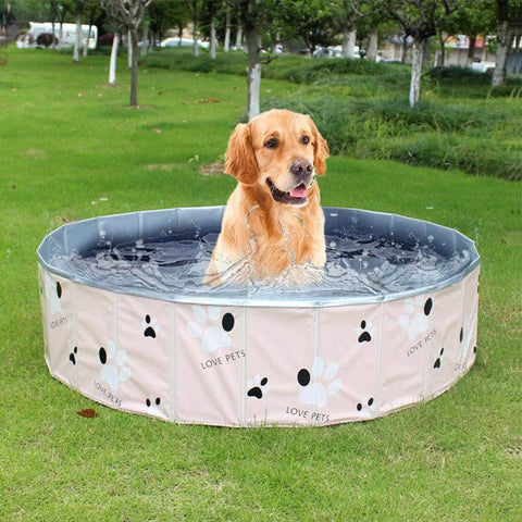 Outdoor Indoor Pet Bathing Tub Pool For Dogs - pethomeus