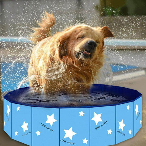 Pet Bath Pool Foldable Dog Swimming Pool - pethomeus
