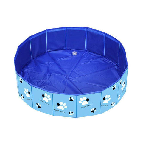 Portable Dog Swimming Pool Foldable - pethomeus