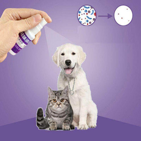 Pet Deodorant Spray - pethomeus