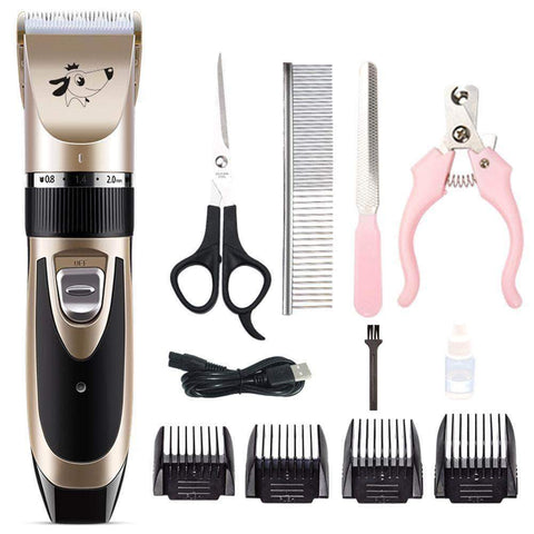 Pet Hair Trimmer Rechargeable Low-noise - pethomeus
