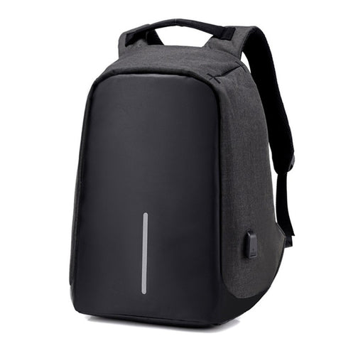 Anti-Theft Backpack with USB Charge port - Black