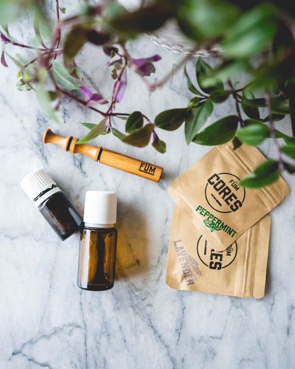 Top 5 Essential Oils To FÜM - GRITS & GRACE Collab