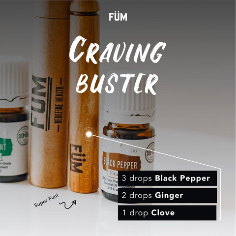 Craving buster essential Oil blend