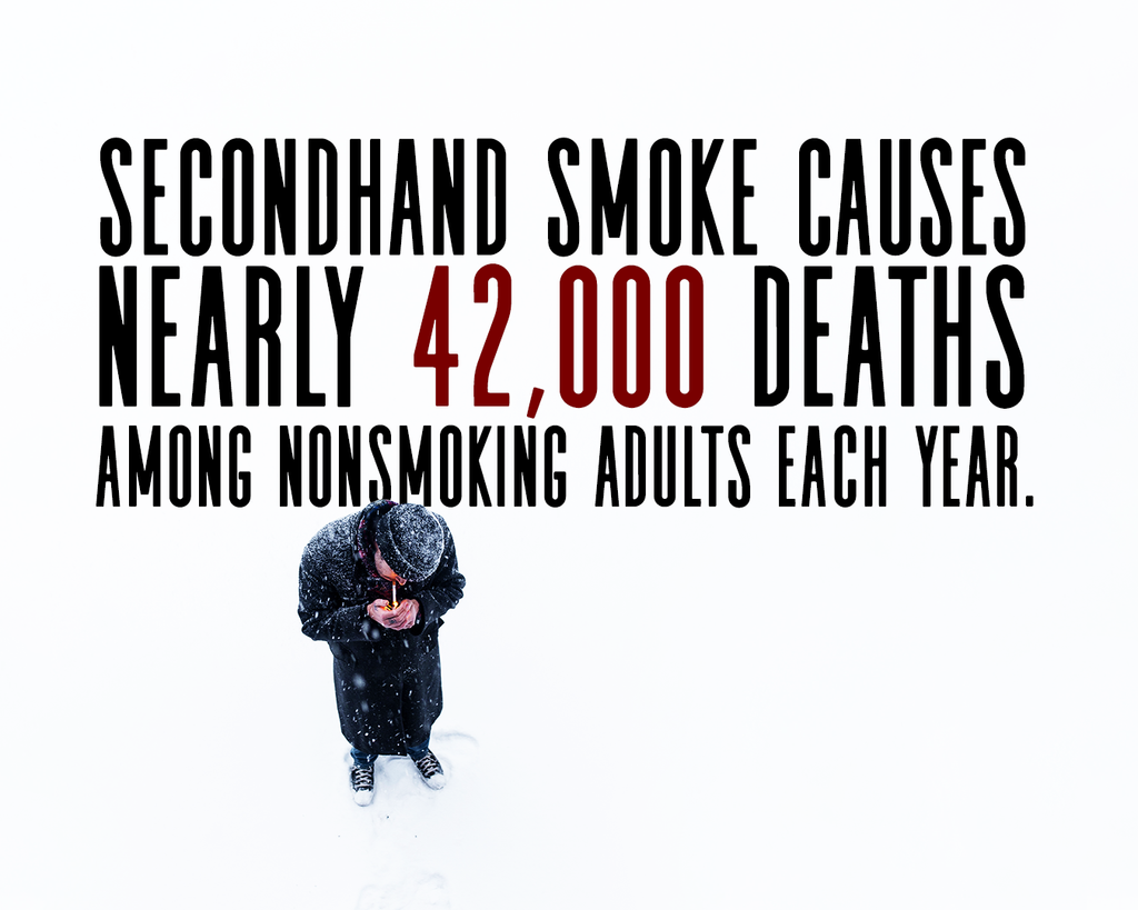 second hand smoke kills