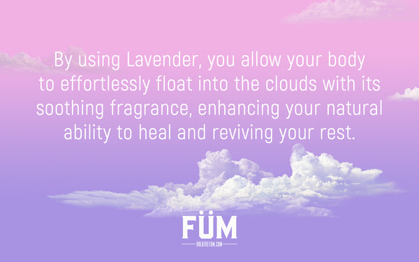 lavender to help sleep and relax