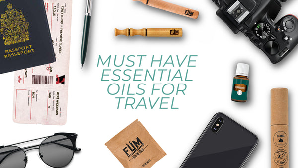 essential oils to bring when traveling